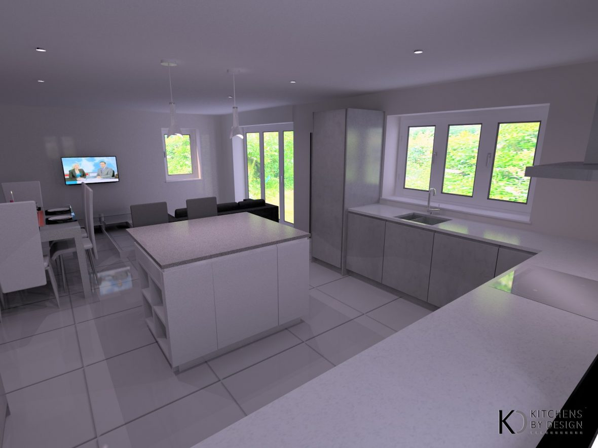 3D Visualisation - Kitchens by Design